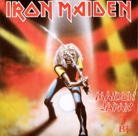 Cover album maiden-japan